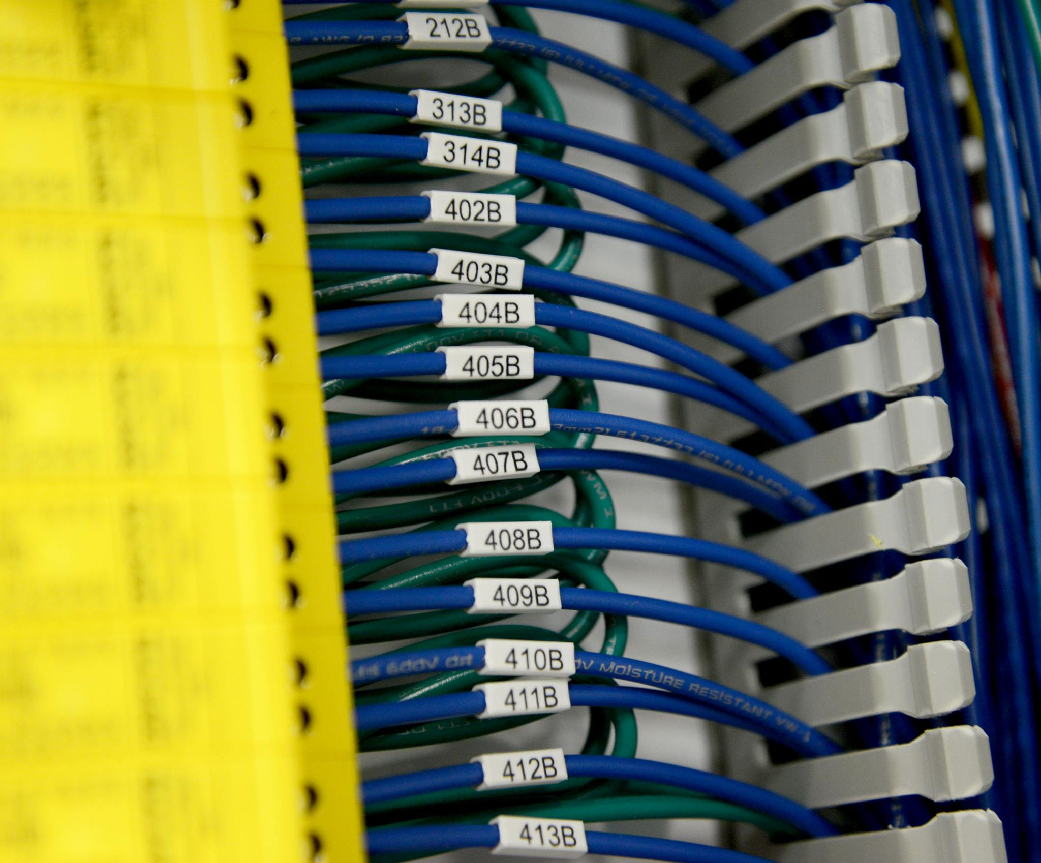 labeled wires
